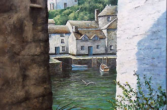 a veiw to the harbour 12 x 22 code c