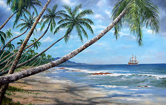 leaving the islands 20 x 30 code d