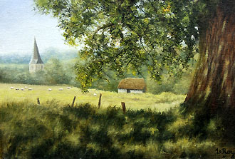 summer at shere 14 x 10 code b