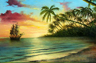 tropical anchorage 16 x 20 code c